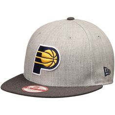 competitive price 2e6d8 c4df5 Men s Indiana Pacers New Era Heathered Gray Action 2-Tone 9FIFTY Adjustable  Hat,  27.99