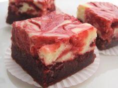 Red Velvet Cheesecake Swirl Brownies Recipe - Food.com