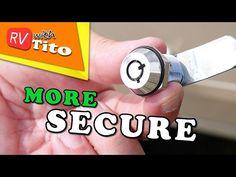 How To Replace RV Storage Locks - No More CH751 Keys - YouTube