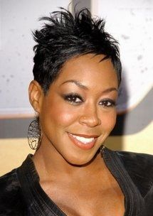 I love my short hair and this style works perfect for me.......easy to maintain.