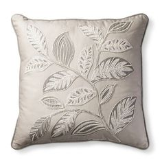 Last Trending Get all images log pillow target Viral pillow target Embroidered Leaves, Embroidered Cushions, Bird Pillow, White Decorative Pillows, Natural Cushions, Pillows Online, Embroidery Bags, Fall Pillows, Embroidery Techniques
