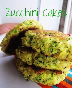 Pasta to Zucchini: Zucchini Cakes