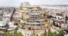 オランダの建築事務所Architects for Urbanityが勝利したヴァルナ図書館の国際コンペ。谷尻誠…