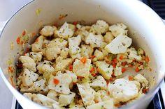 Pioneer Woman: Cauliflower Soup