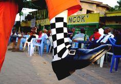 Les sapeurs de Bacongo - Photo de Baudouin Mouanda