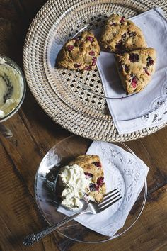 (Vegan) Amaranth 'n Cranberry Scones by #Gnom-Gnom