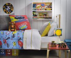 Un dormitorio súper equipado para los niños de la casa. Otoño - Invierno 2016.
