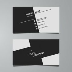 Minimalistic business cards calling card design minimal design simple black and white business card template reheart Image collections