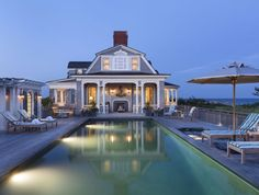 Robert A. M. Stern; Residence in East Quogue (New Construction); East Quogue, New York, 2013.