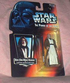 Star Wars EP1 Obi Wan Kenobi Jedi Knight LOOSE COMPLETE MINT