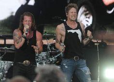 Florida Georgia Line perform on Saturday, July 26, 2014, at PNC Park in Pittsburgh.  (Heidi Murrin  |  Trib Total Media)