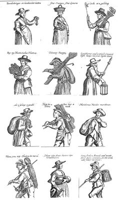 English Civil War (ECW) Living History Resources ~ How to make and source things 'mid 17th century'  17th century womens garb