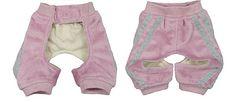 Perro ropa libre Patrones: patrones de pantalones para perros