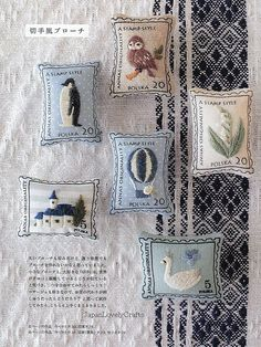 Annas Frist Embroidery Komono Zakka - Japanese Craft Book for Embroideries for beginners - Anna Kawabata - B806. $29.00, via Etsy.