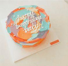 𝚎𝚍𝚒𝚝𝚎𝚍 𝚋𝚢  𝔂𝓪𝓼𝓶𝓲𝓷 𝚗𝚘𝚝 𝚖𝚢 𝚙𝚒𝚌 Pretty Birthday Cakes, Pretty Cakes, Beautiful Cakes, Amazing Cakes, Korean Cake, Pastel Cakes, Cute Desserts, Just Cakes, Food Cravings