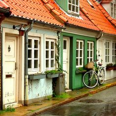 Photos of Aalborg, Denmark....to get the feel of the place as I write about family who lived there.