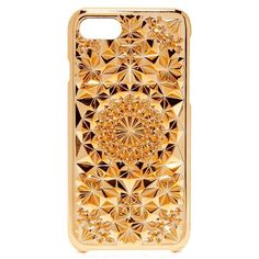 Felony Case Kaleidoscope iPhone 7 Case (£32) ❤ liked on Polyvore featuring accessories, tech accessories, rose gold, iphone cover case, iphone cases, print iphone case, apple iphone case and pattern iphone case