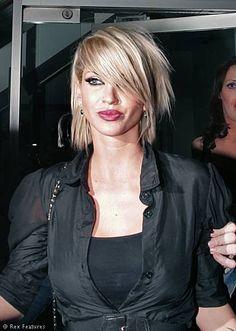 Sarah Harding's Hair very cute