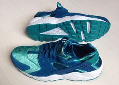 buy online 0fbcb 3c5a9 Air Huarache Green Abyss
