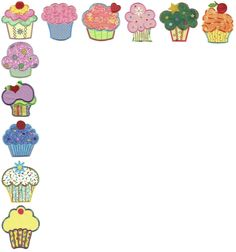 Esquinero Cupcakes (GabArt)