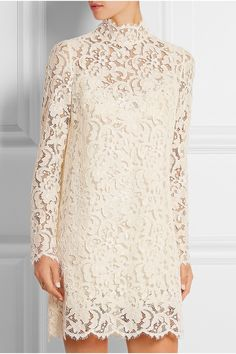 Dolce & Gabbana | Guipure lace mini dress | NET-A-PORTER.COM