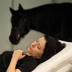 In February of this year, Art Orienté objet (Marion Laval-Jeantet & Benoît Mangin) were at galerie Kapelica in Ljubljana to perform Que le cheval vive en moi (May the horse live in me), a bold self-experiment that aimed to blur the boundaries between species. The French artistic duo has been exploring trans-species relationships and the questioning of scientific methods and tools for 20 years now. This time their work involved injecting Marion Laval-Jeantet with horse blood plasma.