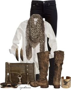 """Nature Girl"" by cynthia335 on Polyvore"