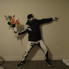banksy costume. Not many would get it, but if they did...!!!