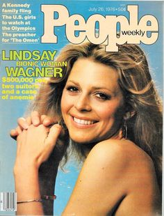 People Magazine July 26, 1976 Lindsay Wagner Bionic Woman The Omen NO LABEL