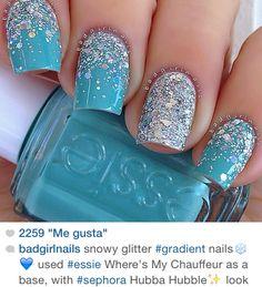 Glitter all around