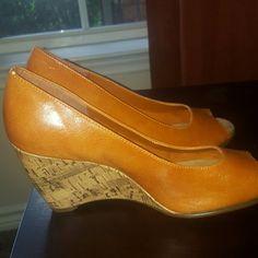 Aerosoles NEW sandal wedge Tan wedges sandals. Never been worn AEROSOLES Shoes Sandals