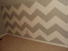 An accent wall
