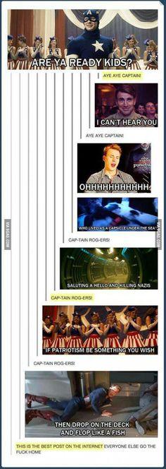 30 Funny Captain America Memes - Marvel Fan Arts and Memes Avengers Humor, Marvel Jokes, Funny Marvel Memes, Dc Memes, Funny Memes, Hilarious, Funny Videos, America Memes Funny, Superhero Humor