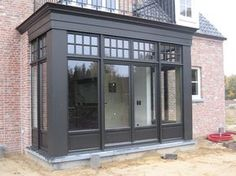 Wonder if it's up to code in Canada Bay Window, House Design, House Extension Design, Exterior Design, Beautiful Homes, Porch Enclosures, Sunroom Designs, Lake House, House Exterior
