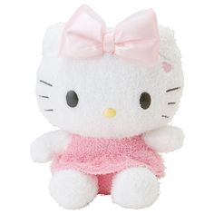 Hello Kitty Fluffy Plush Doll Spring Color Doll S SANRIO JAPAN