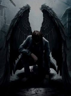 we're bored to death in heaven, and all alone in hell. sincerely, the fallen angels Dark Fantasy Art, Fantasy Kunst, Dark Art, Male Angels, Angels And Demons, Angel Warrior, Angel And Devil, Angel Man, Ange Demon