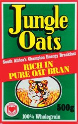 I HAVE JUNGLE OATS EVERY MORNING - AMAZING RECIPES ON THE SIDE OF THE BOX