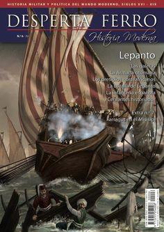 "Portada de ""Lepanto"", n.º 6 de Desperta Ferro Historia Moderna. © Breogán Álvarez"