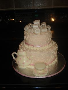 pretty tea cake
