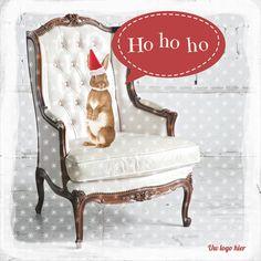 Kerstkaarten en nieuwjaarskaarten van Santhos! Wingback Chair, Holiday, Christmas, Accent Chairs, Logos, Cards, Furniture, Design, Home Decor