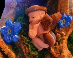 Crafting Mythical Babies . Step by step instructions how to make a Mermaid baby, Fairy baby, Centaur baby, Troll baby and more. No previous sculpting skills. This isn't an etsy sale. These are the full instructions.