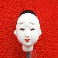 Japanese Doll Head Hina Matsuri  Man  Body by VintageFromJapan