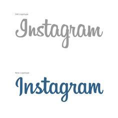 Instagram - Old Logo vs New Logotype