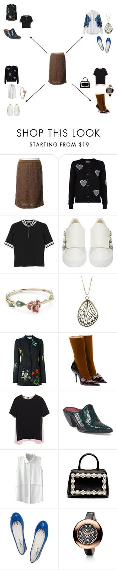 """""""Down To Business (Part 5)"""" by in-it-not-of-it ❤ liked on Polyvore featuring René Lezard, Markus Lupfer, Monki, Alexander McQueen, Disney Couture, STELLA McCARTNEY, Miu Miu, Roksanda Ilincic, Simone Rocha and Repetto"""