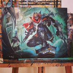 Someone painted this from the LoLNZ Fb page...wow
