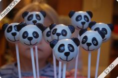 Panda pops!  I am going to make these for the cubs' autumn party in a couple of months.