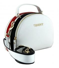 !!!Schultertasche Tommy Hilfiger Staple Crossover corporate weiss Crossover, Tommy Hilfiger Damen, In Ear Headphones, Carry Bag, Script Logo, Artificial Leather, Sachets, Handbags, Audio Crossover