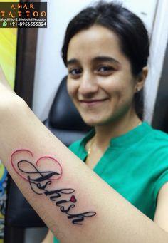 Pooja Name Tattoo On Wrist Tattoo For Girls Amar Tattoo New Tattoo