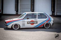 VW Golf MK1 #martini