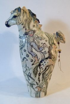 gallery, art for sale Christine McKay Horse Sculpture, Sculpture Clay, Animal Sculptures, Pottery Animals, Ceramic Animals, Ceramic Figures, Ceramic Art, Equine Art, Horse Art